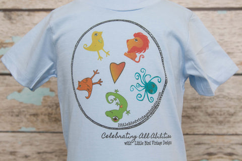 Celebrating ALL Abilities Adult Tee