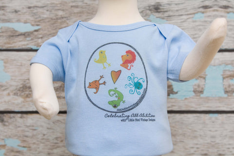 Celebrating ALL Abilities Onesie