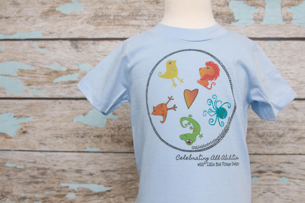 Celebrating ALL Abilities Infant/Youth Tee