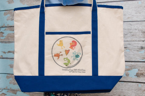 Celebrating All Abilities Large Printed Tote