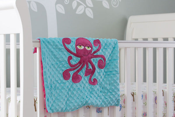 Cooper Appliqued Octopus Lovie