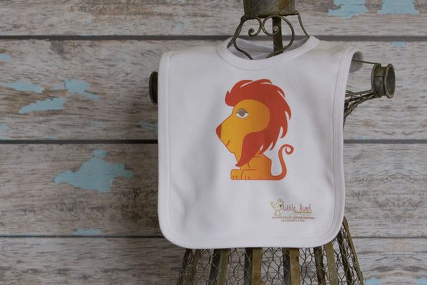 100% Organic Cotton Printed Bib