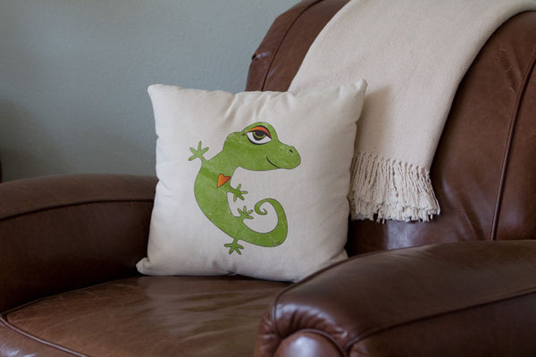 Printed Throw Pillow