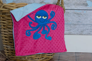 Emma Appliqued Octopus Lovie