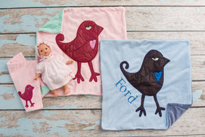 EXCLUSIVE Bambinos Appliqued Bird Lovie