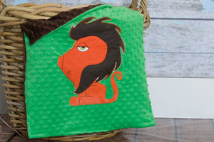 Hayes Appliqued Lion Lovie