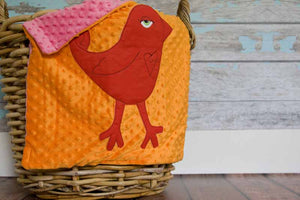 Indiana Appliqued Bird Lovie
