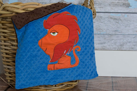 Leo Appliqued Lion Lovie