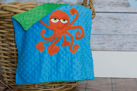 Maximus Appliqued Octopus Lovie