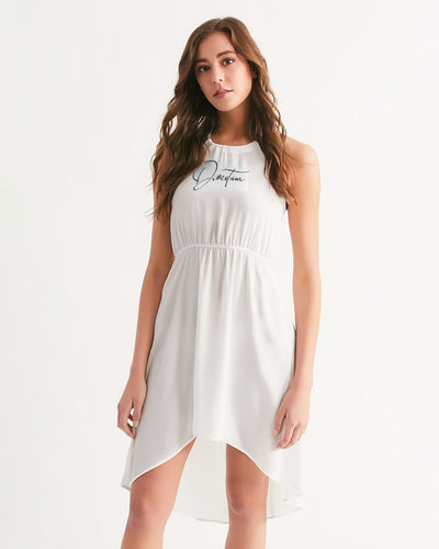 High-Low Halter Dress