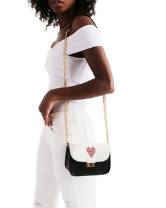 Heart Motivational Small Shoulder Bag