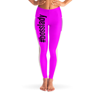 Mesh Pocket Legging Pink