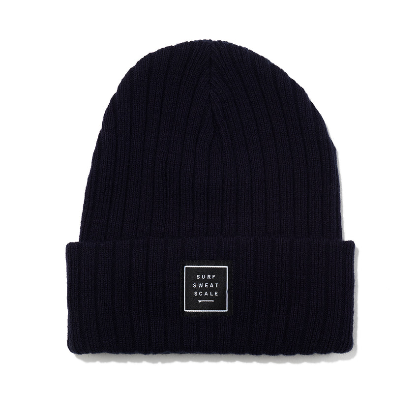 Surf. Sweat. Scale - Ribbed Knitted Beanie