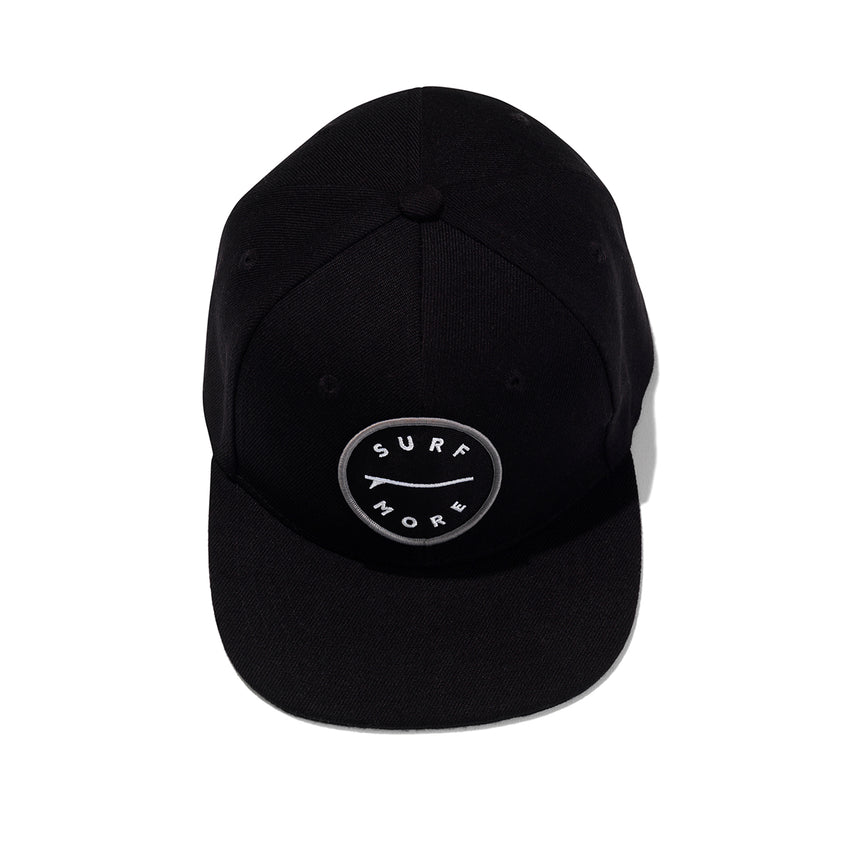 The Surf More - Flat Peak 6-Panel Cap