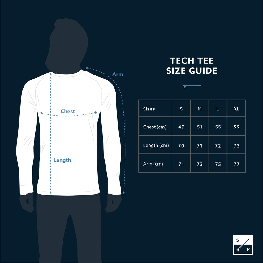 The Endeavour - Long Sleeve Technical Tee