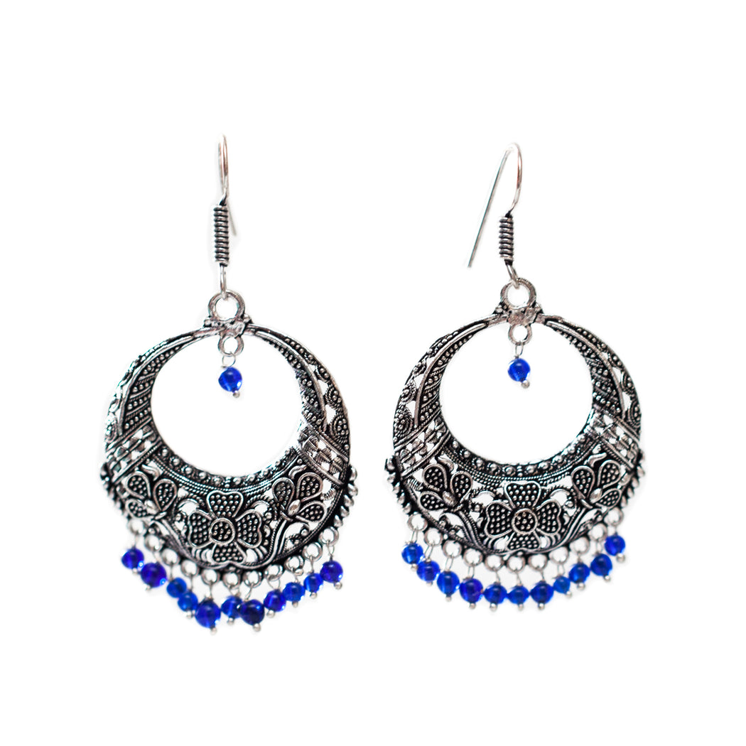 Afghani Full Moon Earrings