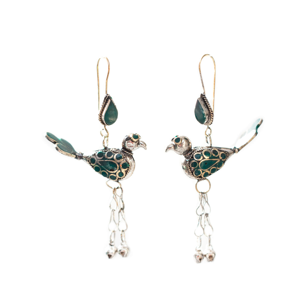 Birds and Bells Earrings