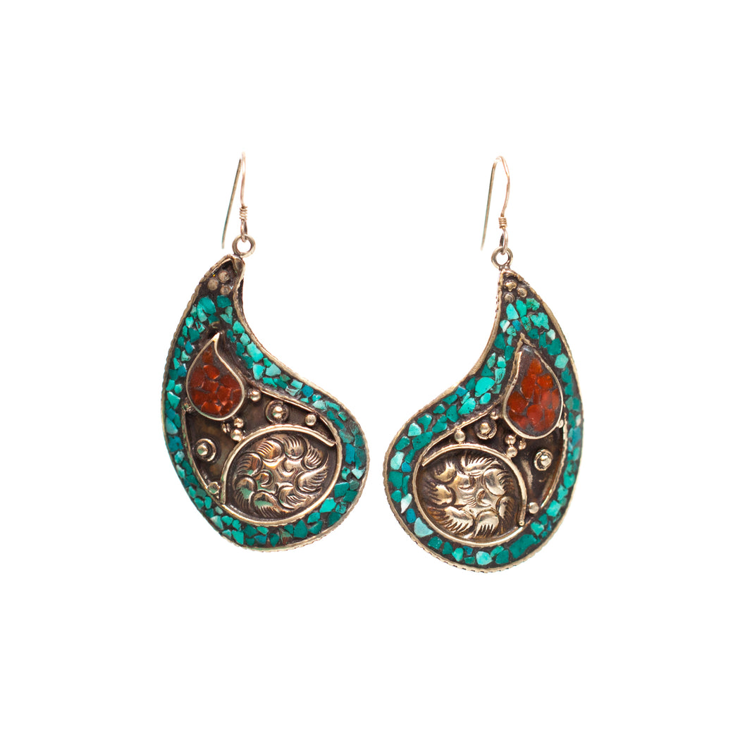 Afghani Kuchi Earrings