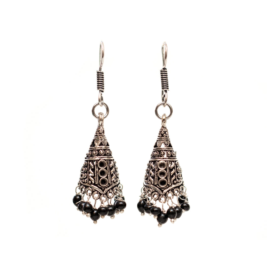 Afghani Old Elephant Earrings