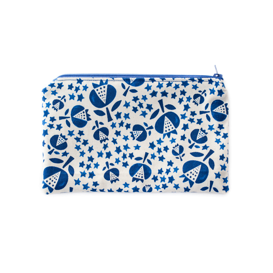 Thistles Zippered Pouch