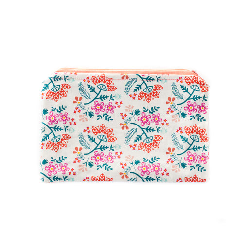 Bouquet Zippered Pouch