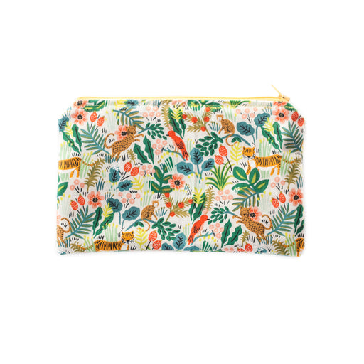 Jungle Zippered Pouch