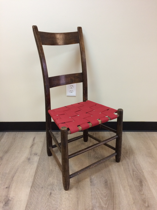Vintage Ladderback Chair - in store pick-up ONLY