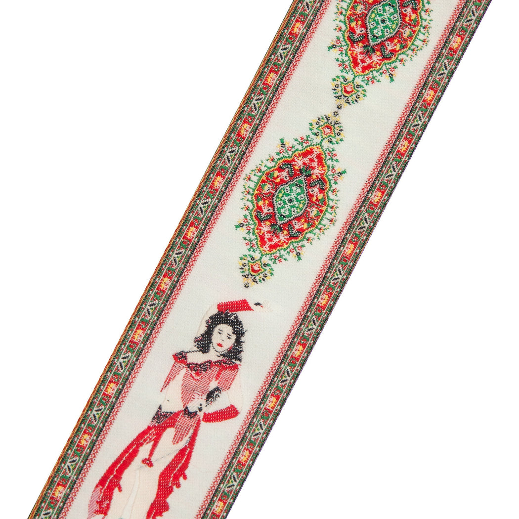 Turkish Woven Bookmark #31