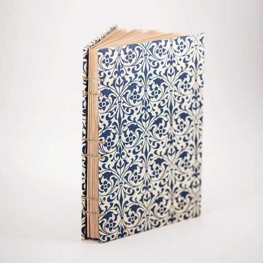 Blue Florentine Blank Journal