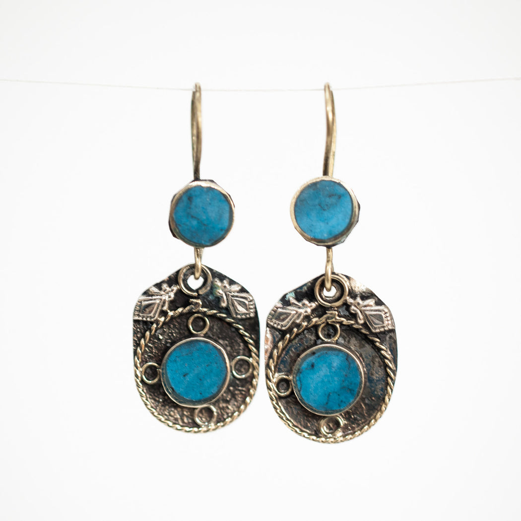 Afghani Earrings (Style 7)