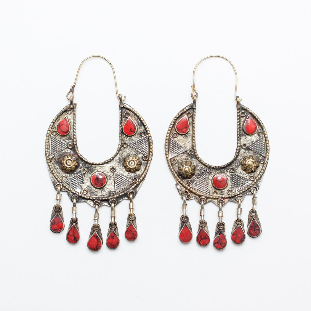Afghani Earrings (Style 34)