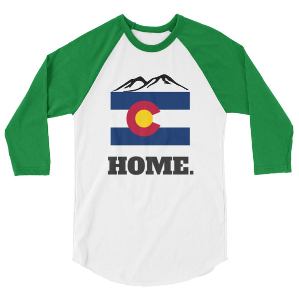 "Raglan Unisex - ""Home"" - Colorado"