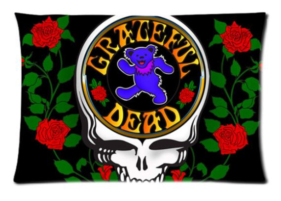 Grateful Dead 2 Soft Fashion Style High Quality Durable Suitbale Single Pillow Case