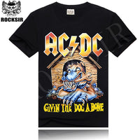 AC/DC Heavy Metal Music Cool Classic Rock Band Shirts