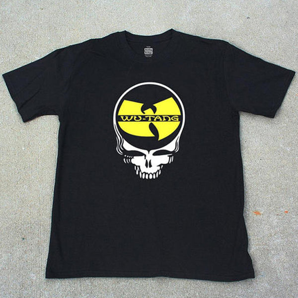 Grateful Dead Wu-Tang T-shirt Skeleton