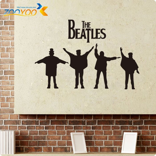 Beatles Wall Decals Designs Removable Music Vinyl Wall Stickers