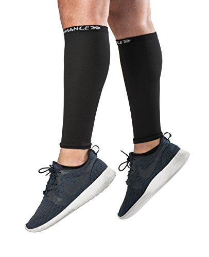Footless Compression Socks for Women - Sleeve for Calves 15-20mmHg Graduated Shin Splints