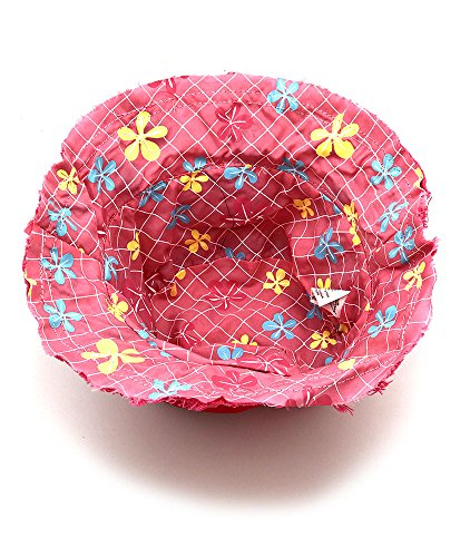 Toddler Small Kids Boys Girls Bucket Hat Patches Stylish Fun Cool Colors Four Styles Beach Sun Sand Fun Pool Outdoors Reversible Travel Vacation Outing Safe Light Fashion - Pink
