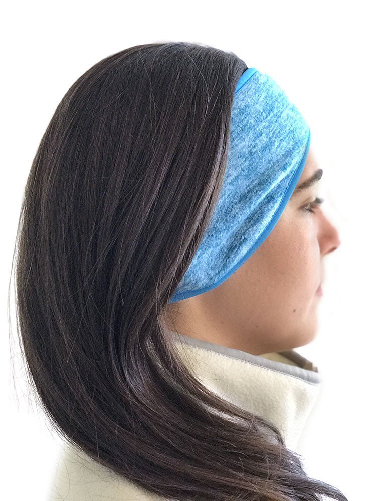 Super Cozy Thermal Ear warmers headband - Unisex  - Turquoise