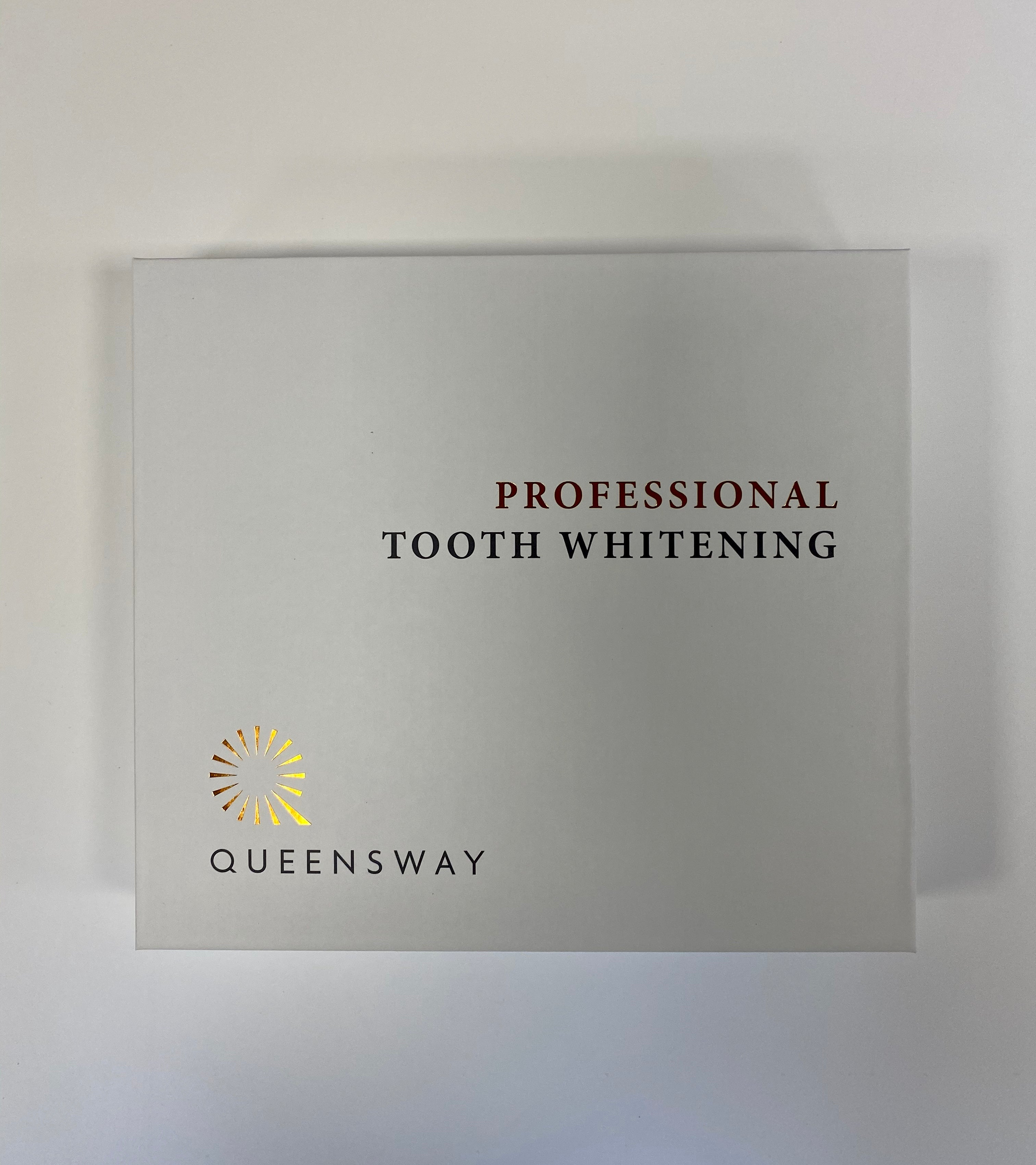 Professional Tooth Whitening 3ml x 4 Syringe - Top up - EXISTING PATIENTS ONLY