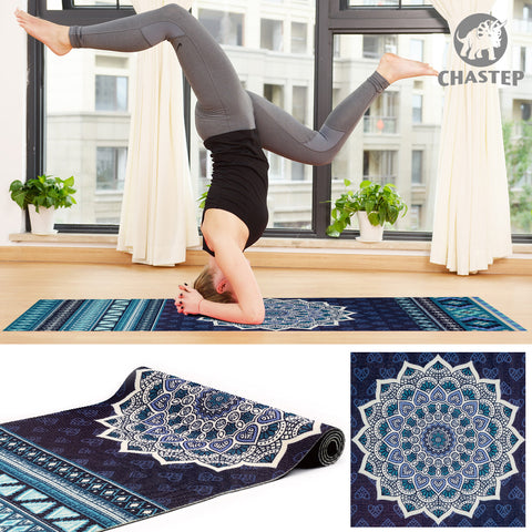 100% Non Toxic 6mm Thickness Yoga Mat With Yoga Bag