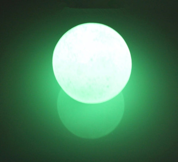 35mm Green Glow in the dark Calcite Glow In Luminous Crystal Ball