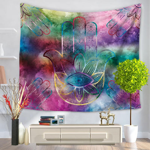 150*200cm Art Hand Tapestry Wall Hang