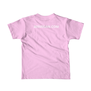 365VEGAN Short sleeve kids t-shirt - #365vegan