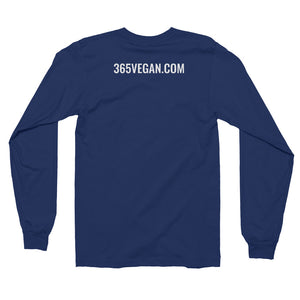 #365vegan Ladies Long Sleeve T-Shirt - #365vegan