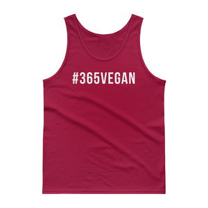 #365vegan men's tank top - #365vegan
