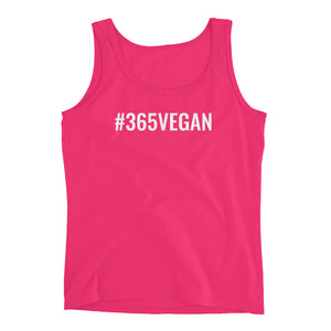 #365vegan Ladies' Tank - #365vegan