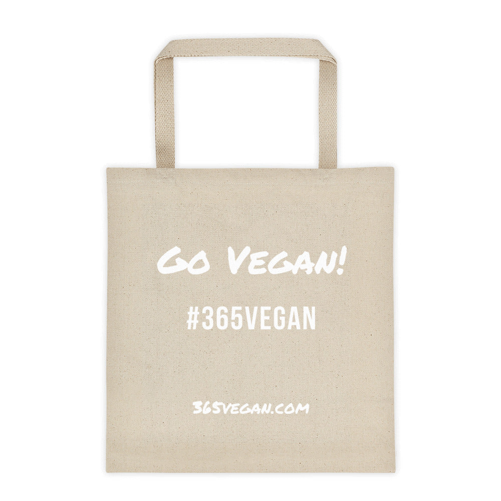 Go Vegan Tote bag - #365vegan