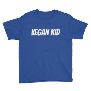 Vegan Kid Youth Short Sleeve T-Shirt