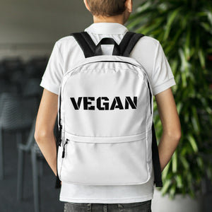 Vegan Backpack - #365vegan